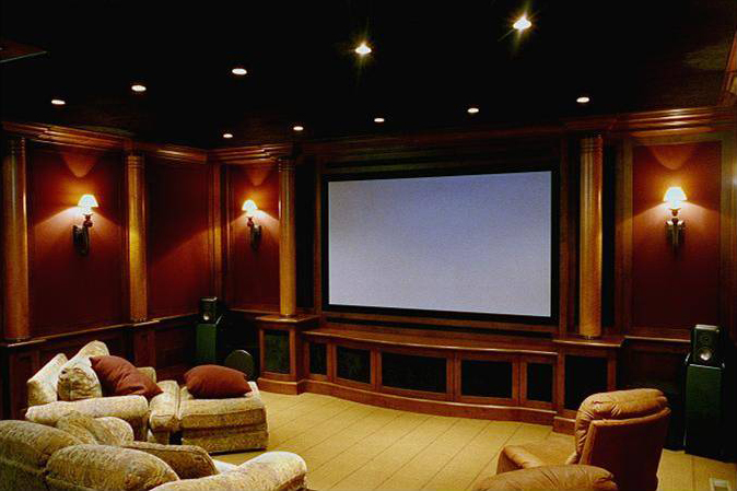 Beneath the elm tree february 2012 for Luxury home theater rooms