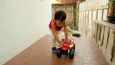 Toy Stories: Tractor-Wheeled Bike