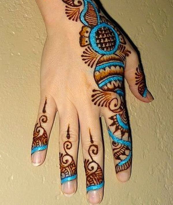 Best Mehndi Designs Latest Dulhan Mehndi Hands For Feet Colourful Glitter De