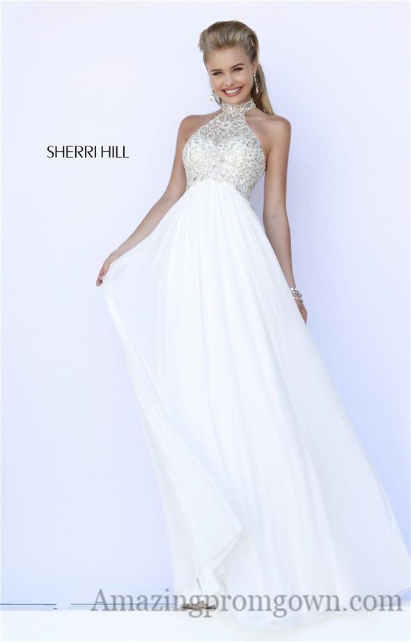 Sherri Hill Beaded Top Long Prom Dresses 2015 : Sherri Hill Beaded ...