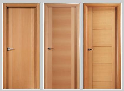 Maderas y tableros puertas de madera venta de puertas de for Puertas para recamara