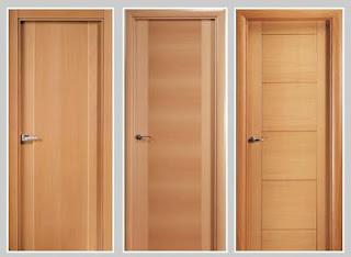 Maderas y tableros puertas de madera venta de puertas de for Puertas para recamara economicas