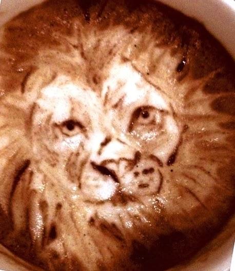 Kahve Falında Aslan