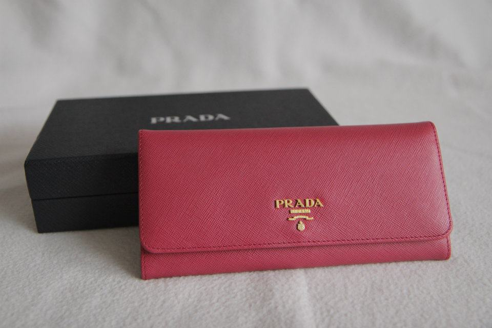 prada wallet on the chain - HandbagHeadquarters!: PRADA SAFFIANO LEATHER CONTINENTAL WALLET ...