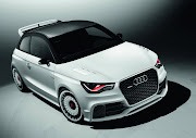 The Audi A1 clubsport quattro is a oneoff vehicle built to the limits of . (audi clubsport qt )