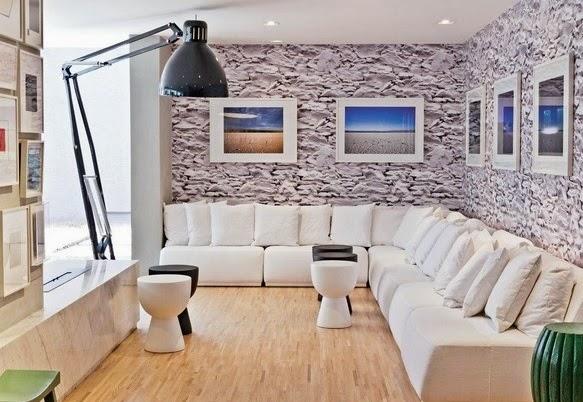 Decoracao De Sala Em L ~  do ambiente é fundamental para que a decoração fique em harmonia em