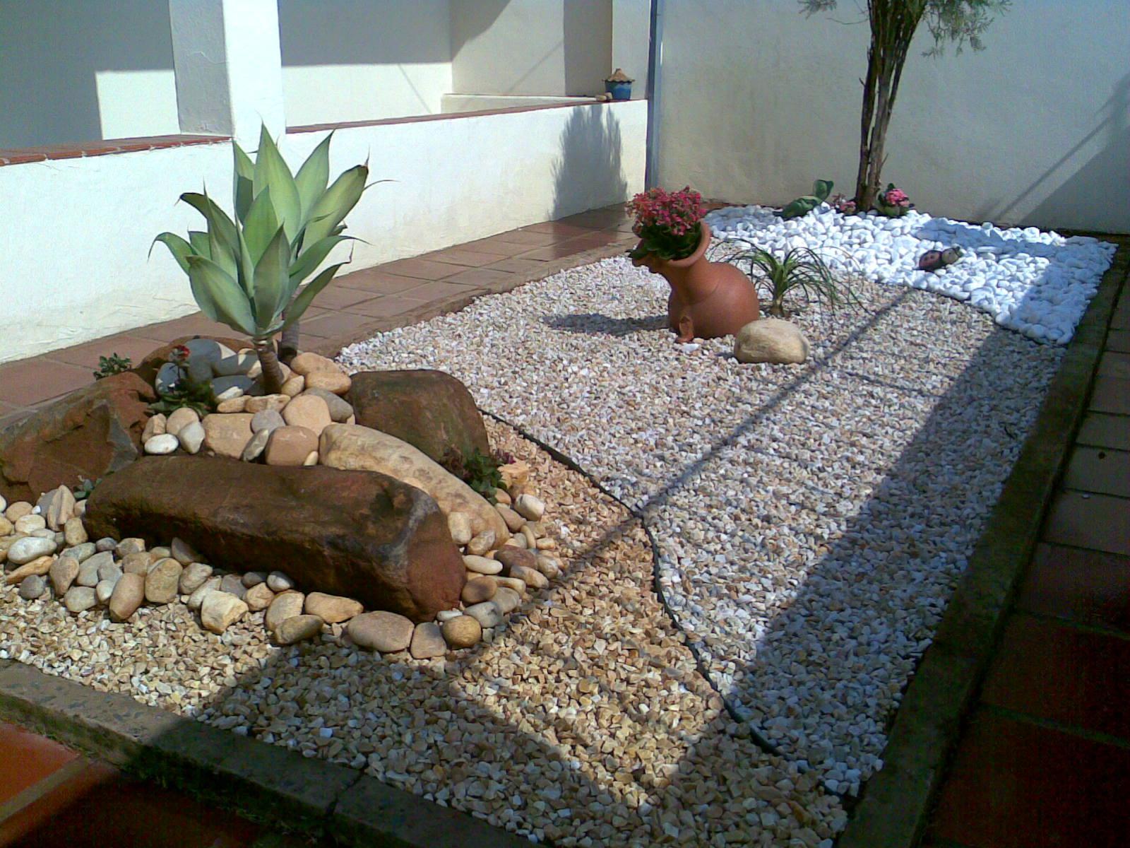 Jardinagem e Paisagismo Jardim de pedras
