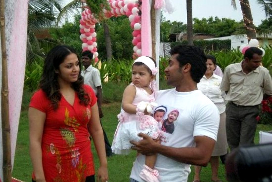 surya jyothika daughter diya first birthday 2009