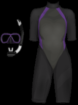 Stardoll Free Sims 3 Snorkeling Gear and Wetsuite