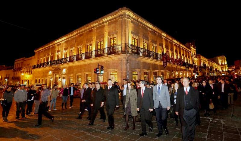 Pase Nocturno centro histórico Zacatecas