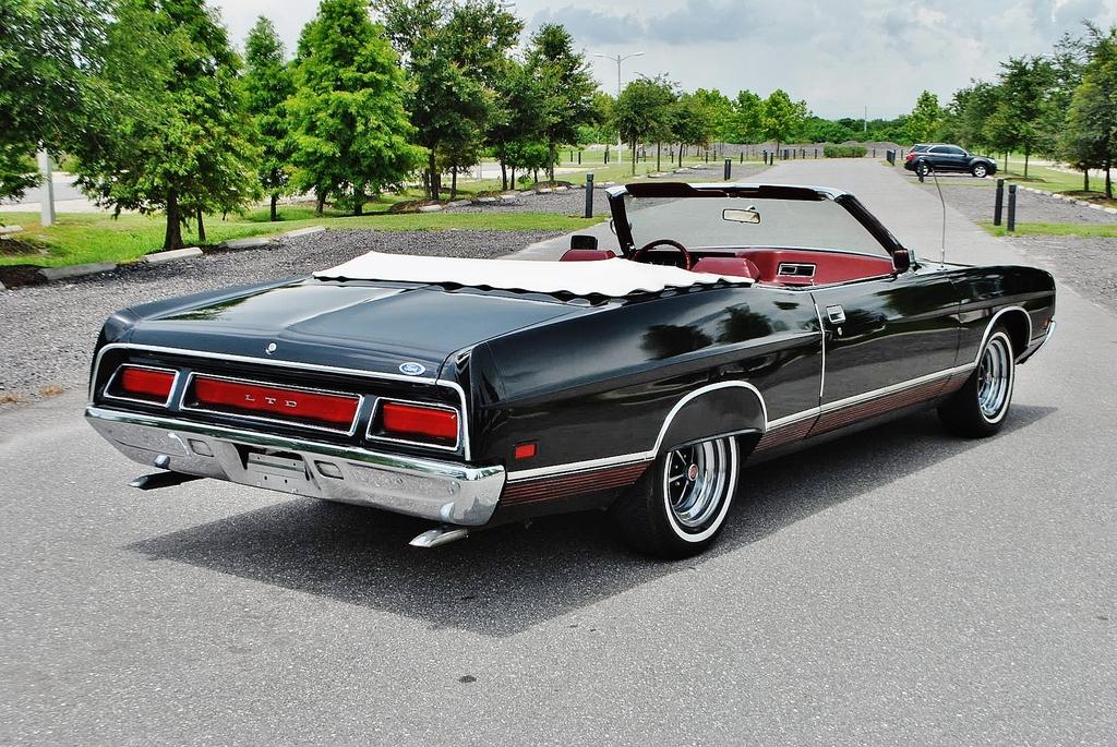 All American Classic Cars 1971 Ford Ltd 2 Door Convertible