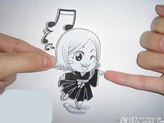 Figuras Anime en papel. 313426_10150378082094819_213182229818_8044871_73315879_n