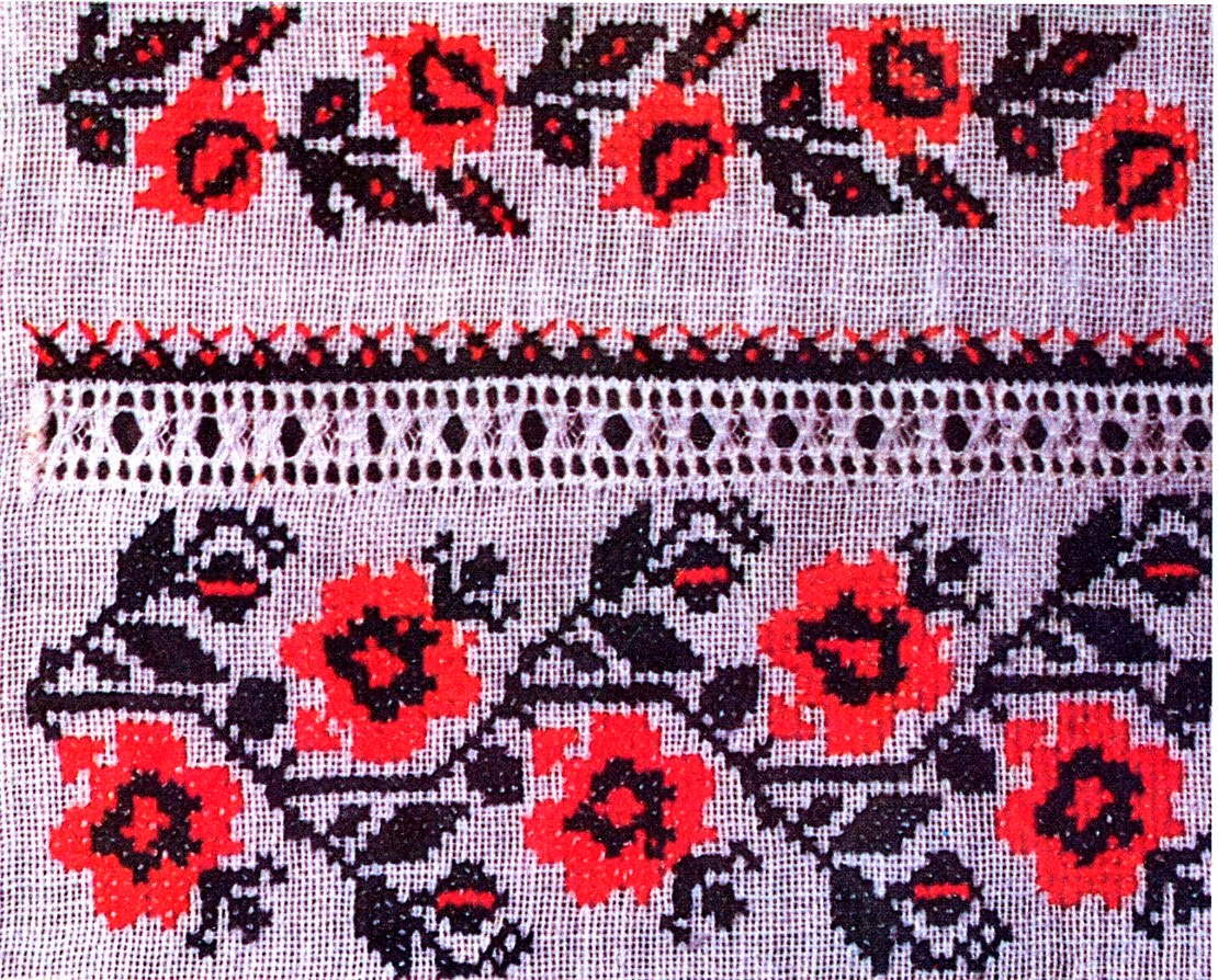 Folkcostumeembroidery ukrainian rose embroidery in the popular pattern books of ukrainian embroidery if not in the scholarly works these designs abound bankloansurffo Image collections