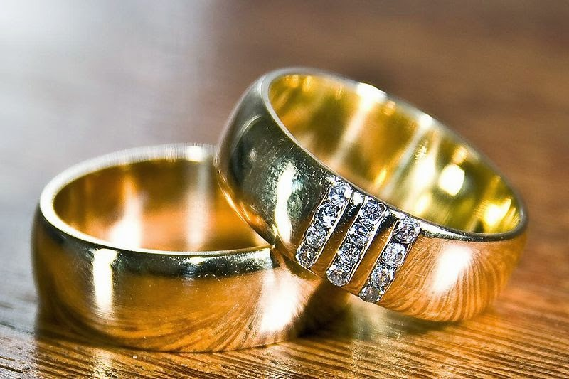 Picture of two beautiful engagement rings