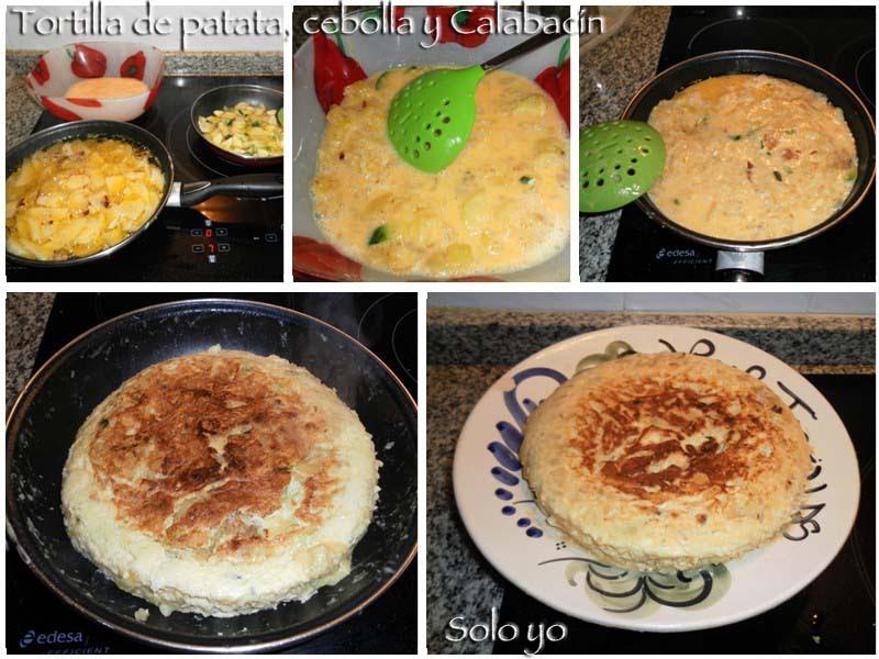 Solo yo tortilla de patata cebolla y calabac n - Tortilla de calabacin y cebolla ...