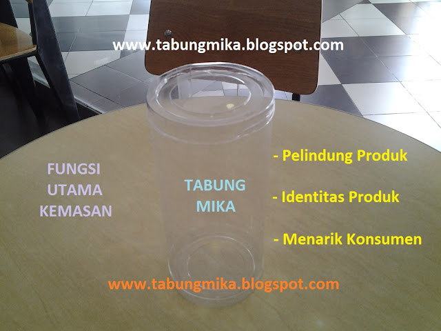 Toples Tabung Mika