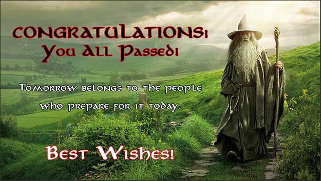 Gandalf on the shire