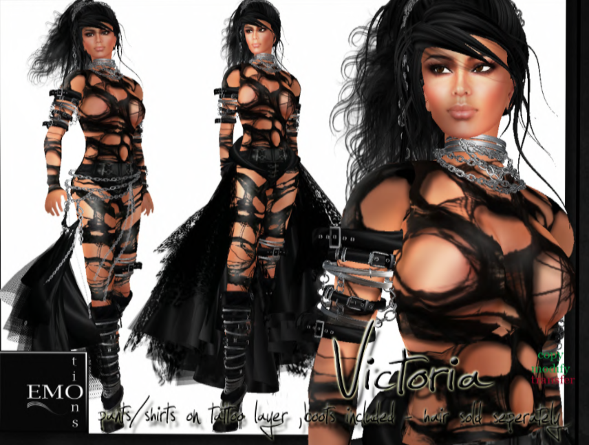 Long's Best of Second Life: EMO-tions - Women's clothes and ...