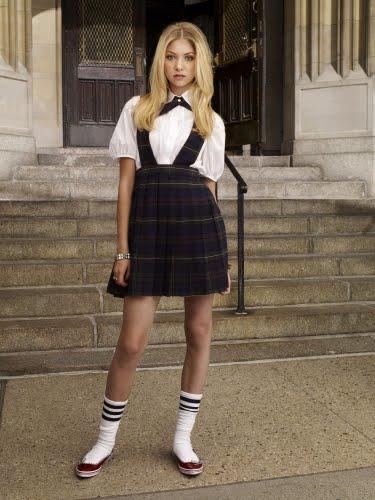 Taylor Momsen as Jenny Humphrey in Gossip Girl