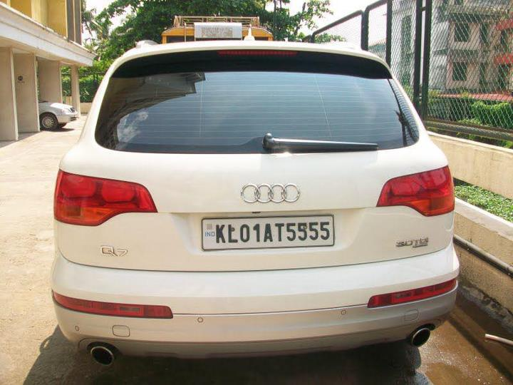 Stars And Cars Prithvirajs Car AUDI Q - Audi car number
