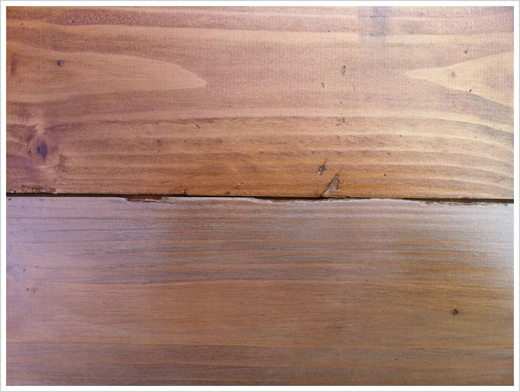 Pavimento in legno: prove di pittura   shabby chic interiors