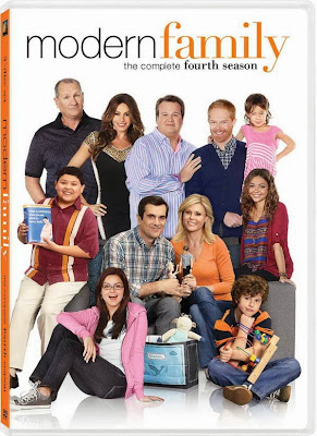 Modern Family season four on DVD