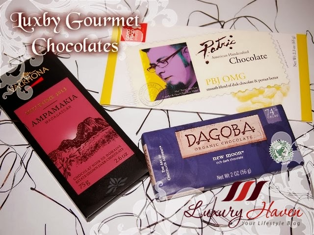luxby gourmet chocolate giveaway