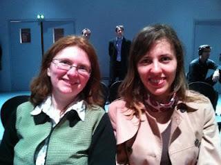 Maria Leconte et Tatiana Kostiuk suivent le tournoi © Chess & Strategy