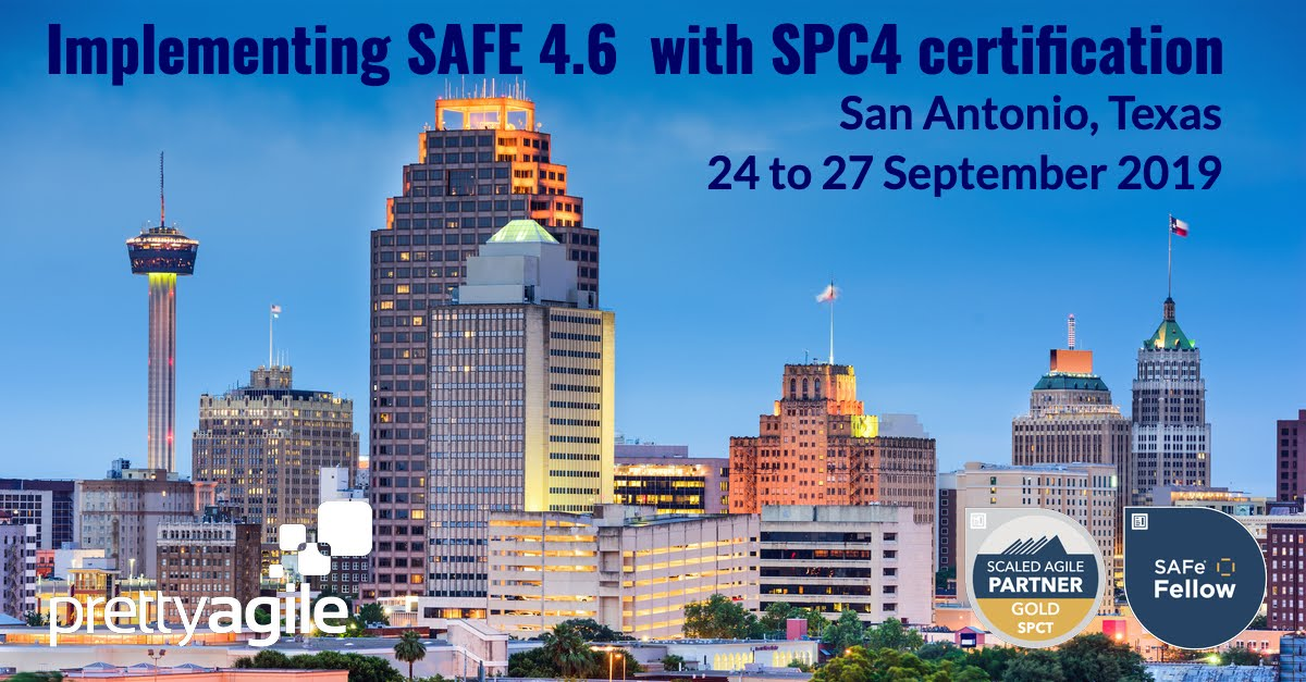 Implementing SAFe, San Antonio, Texas