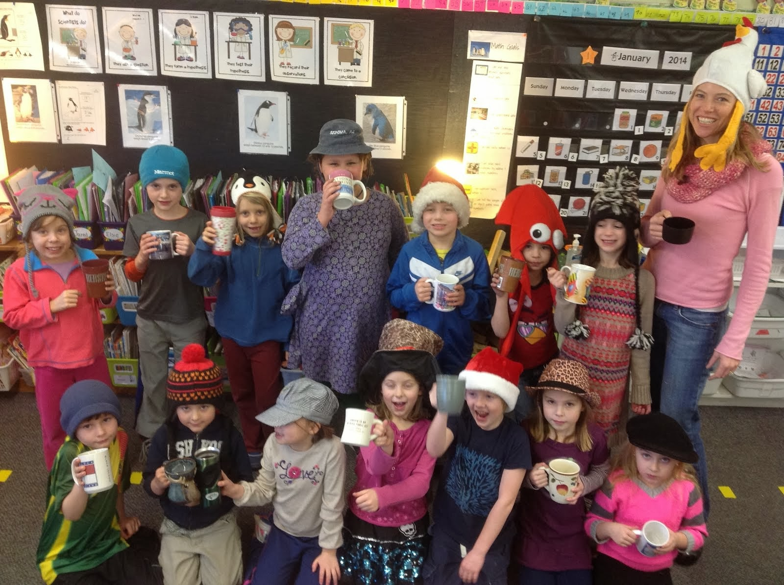 Hats and Hot Chocolate Celebration!