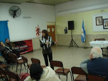 Dra. Ana Risso. Buenos Aires.