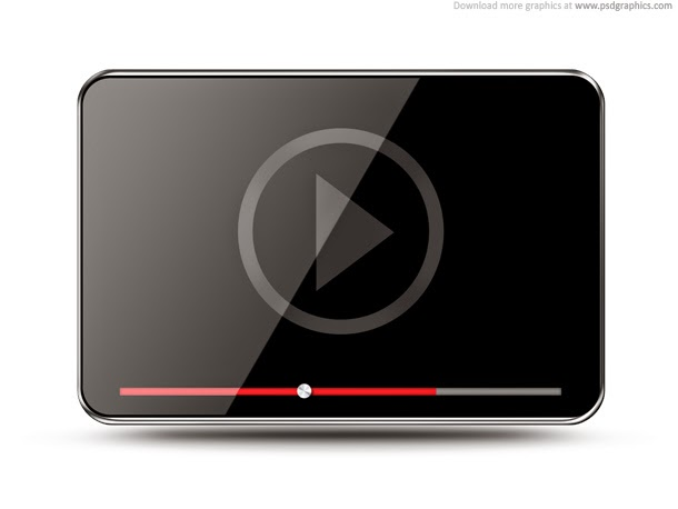 Video Player Icon PSD