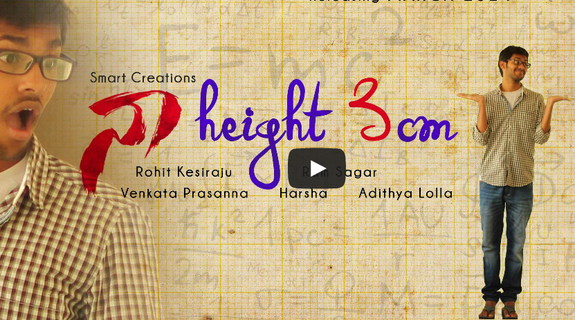 Naa Height 3cm short film poster