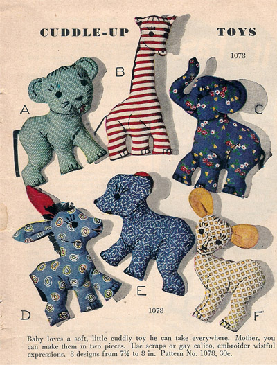 Plush Toy Patterns | Patterns Gallery