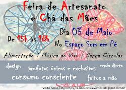 Feira de Artesanato e Chá de Mães - Presentes Exclusivos, Dança Circular e Música ao Vivo!