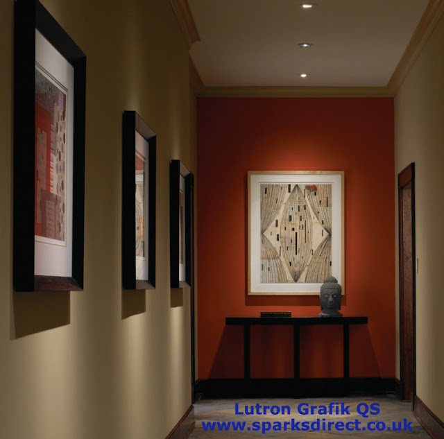 Complete Lutron GRAFIK QS System for Controlling the Lights and Blinds for Home