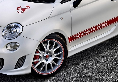 Abarth 595 '50th Anniversary' wheels