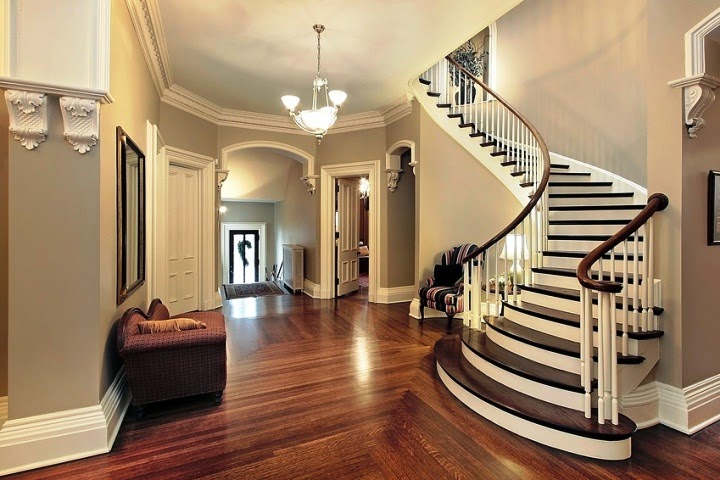 paint ideas for hall and stairs