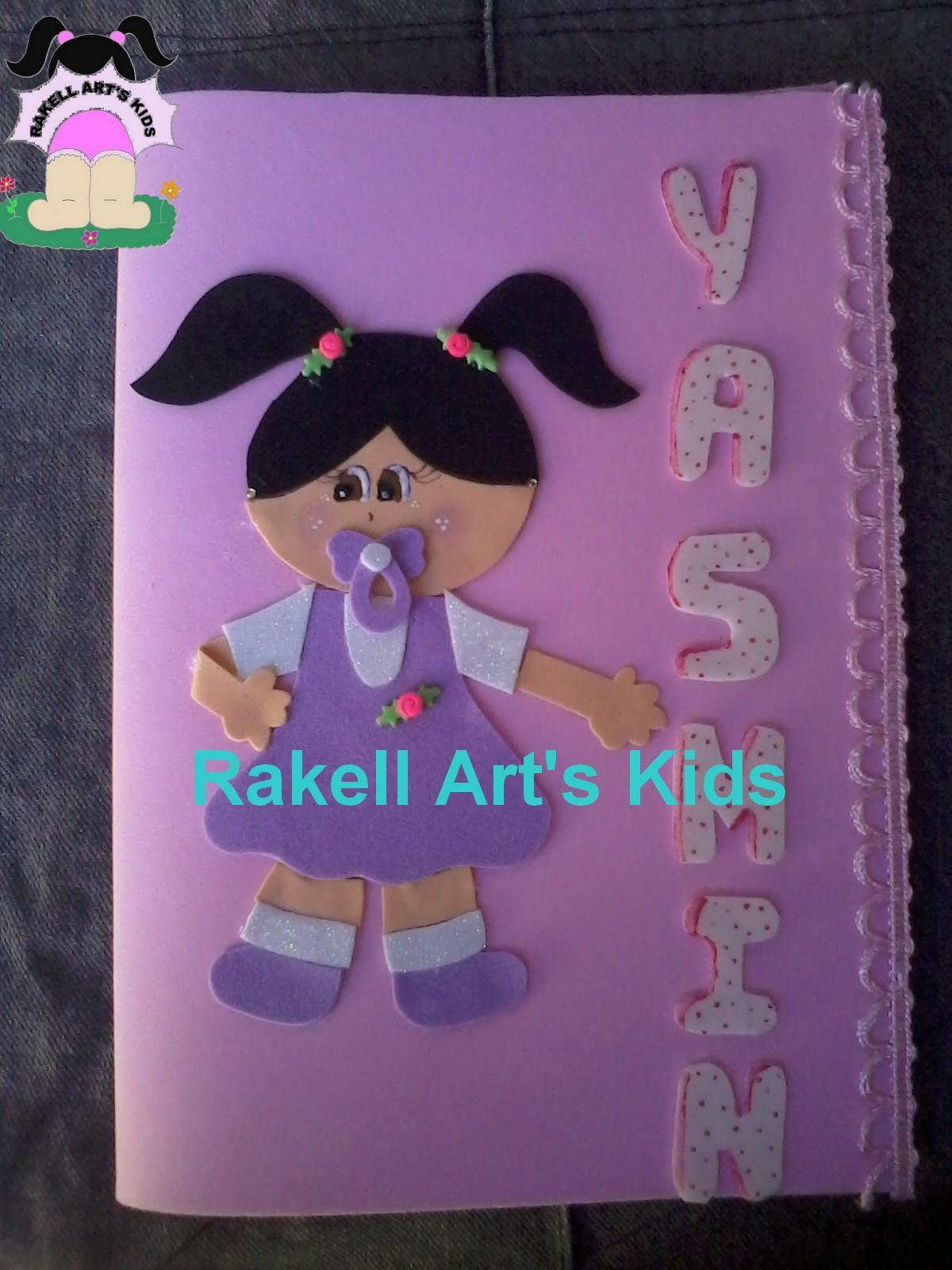 Populares CAPA PARA CARTÃO DE VACINA EM EVA | Rakell Art's Kids NF28