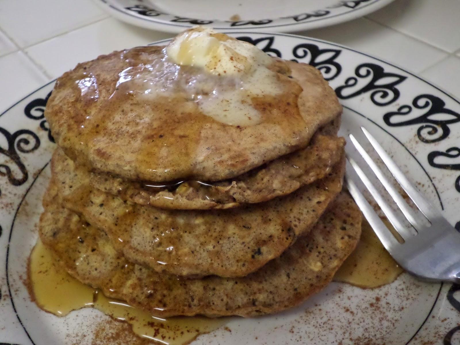 Oatmeal Raisin Pancakes Recipe — Dishmaps
