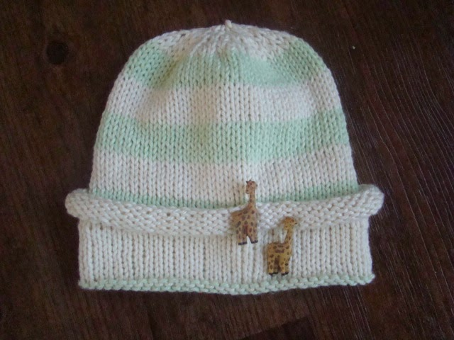 Stocking Hat Knitting Pattern : Crafts By Starlight: Knit Infant Stocking Hat