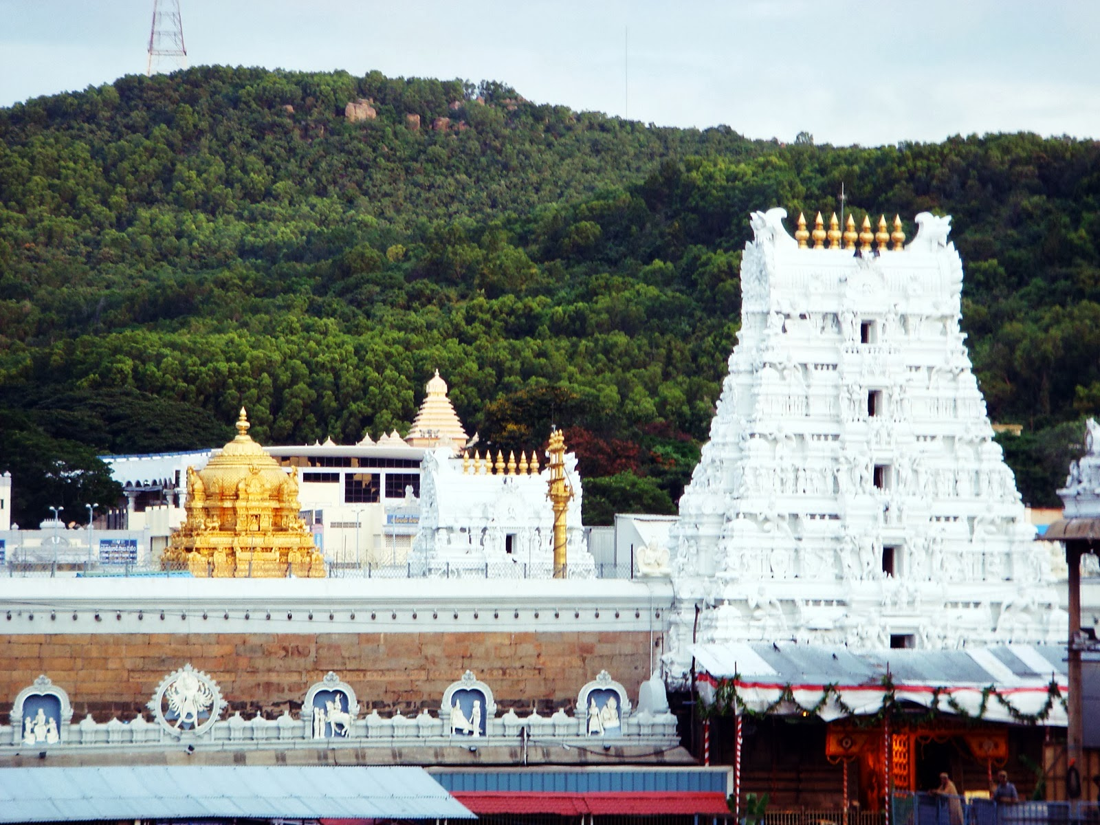 Sri Venkateswara Temple Tirupati India