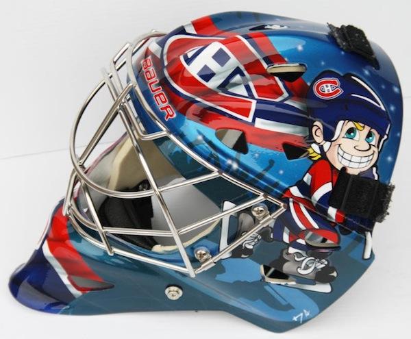 carey price mask. Carey Price 2010-11 Mask