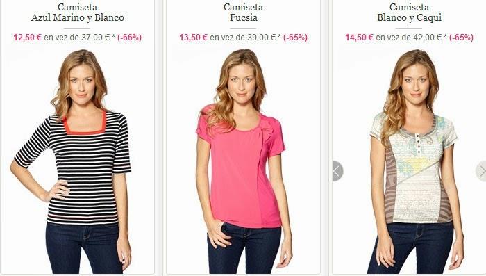 Camisetas para mujer de manga corta de Scottage