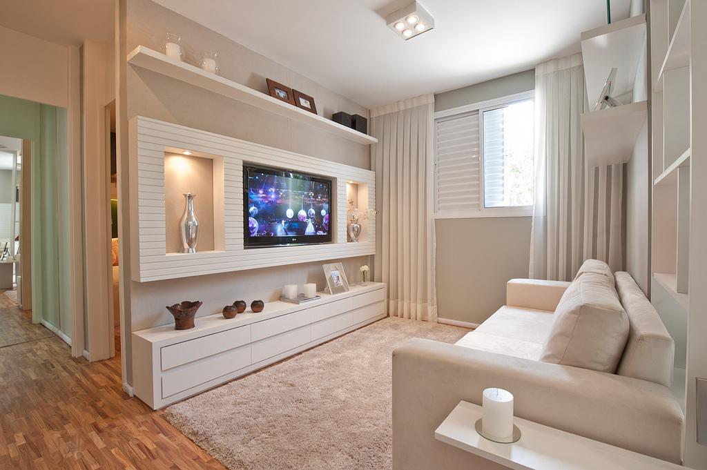 Fotografia do apartamento decorado Moratta Vila Ema Even construtora