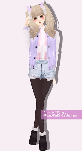 Kawaii imvu pastel outfit