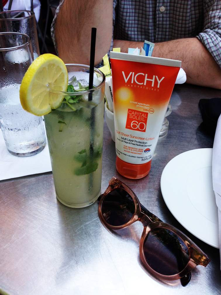 Mint Lemonade Vichy Sunscreen
