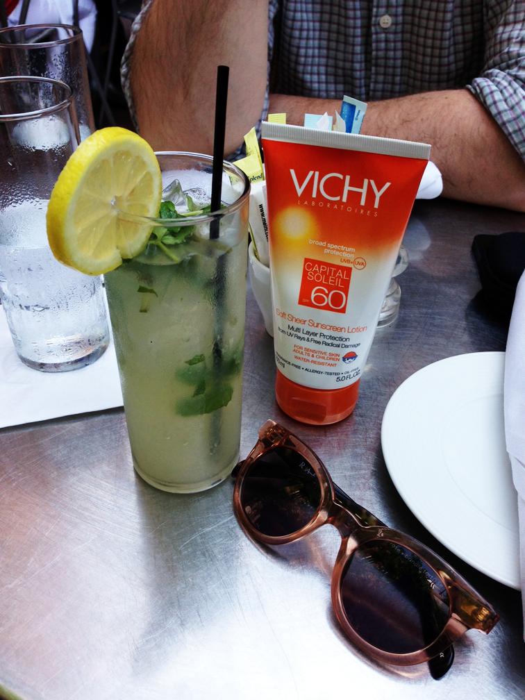 Mint Lemonade Vichy Sunscreen