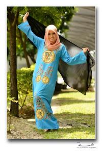 jubah egypt skyblue..
