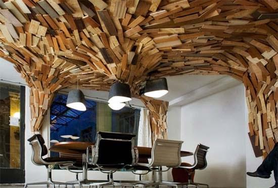 Creative Office Design Ideas: Home Design Furniture: Modern Office Interior Design